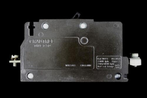 CRABTREE 10 AMP TYPE 2 M4.5 MCB CIRCUIT BREAKER C-50 C50