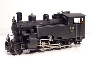 Locomotive à vapeur Ferro-suisse Hg 3/4 N ° 6 Chemin de fer Furka-Oberlalp H0m 1:87