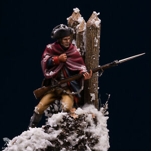 American-Soldier-of-Continental-Army-54mm-1-32-Tin-Painted-Toy-Soldier-Art