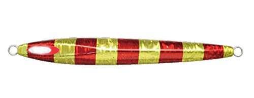 Jackall Anchovy Metal TypeII Slow Slide Metal Jig 200g Red Gold Stripe Japan New