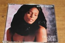 Whitney Houston - Europe CD single /  I Will Always Love You + 2 tracks
