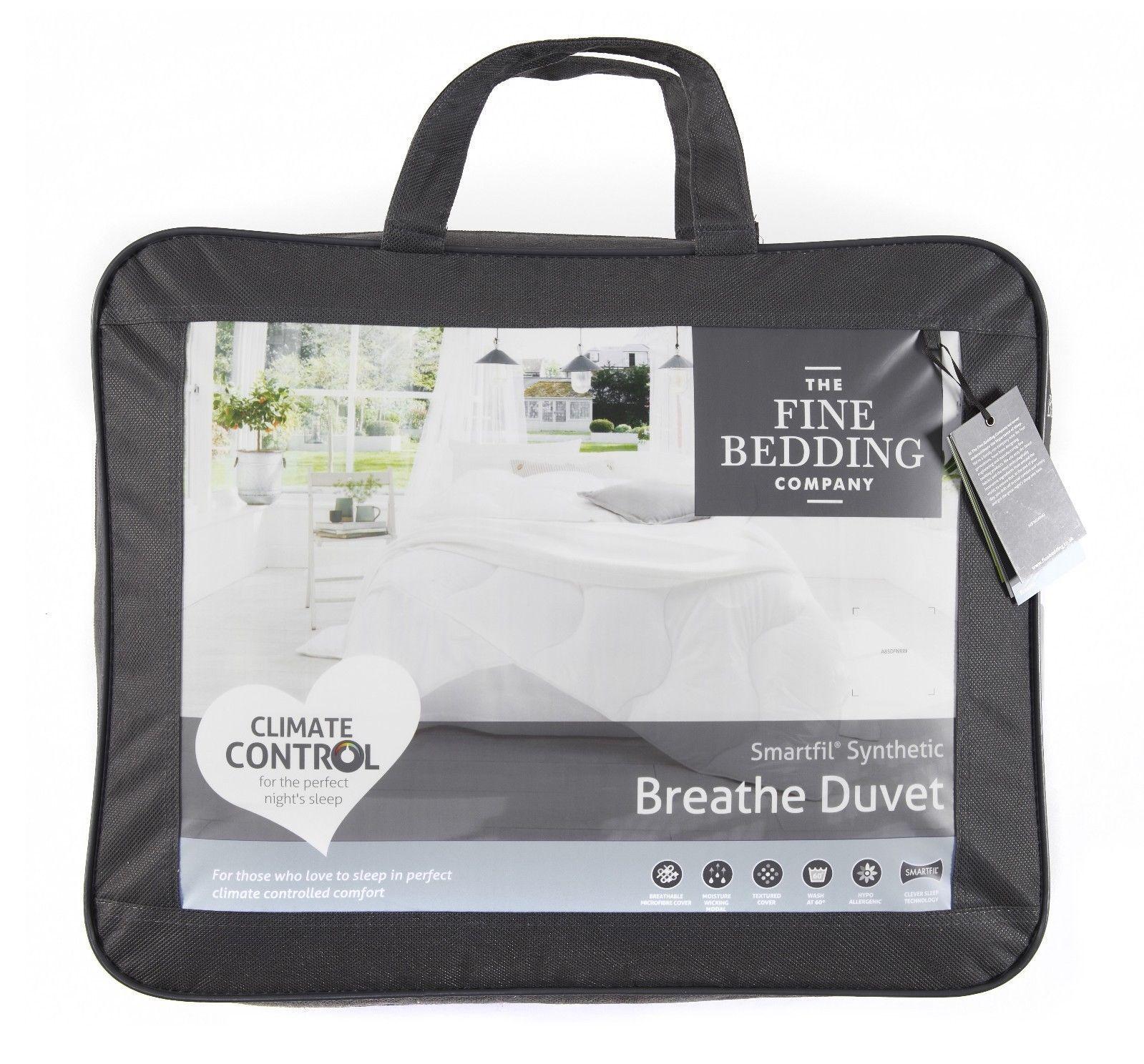 FineBedding BREATHE Synthetic Smartfil ClimateControl Hypoallergenic Duvet Quilt