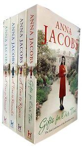 Anna-Jacobs-Rivenshaw-Saga-series-4-Books-Collection-Set-A-Time-to-Rejoice-NEW