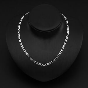 WHOLESALE-4MM-SOLID-925STERLING-SILVER-JEWELRY-CHAINS-16-034-30-034-NECKLACE-XMAS-GIKS