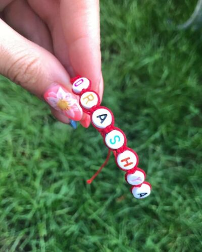 Personalised Baby red string bracelet Newborn Protection Bracelet with name
