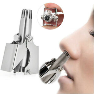 Manual-Nose-Ear-Hair-Trimmer-Hair-Removal-Stainless-Steel-Cutting-Tool-Clipper