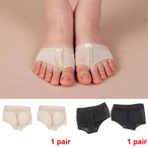 2 Pieces Ballet Dance Foot Pads Foot Thong Forefoot Cushions Protector
