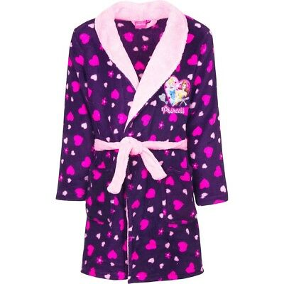 Girls Disney Princess Pink Dressing gown Robe new with tags 4-5 years