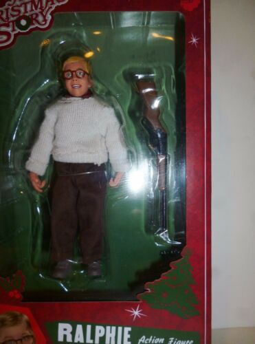 """RALPHIE w// RED RYDER BB GUN A Christmas Story 5/"""" Clothed Movie Figure Neca 2017"""