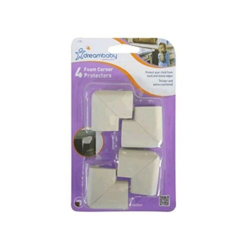 Grey, Pack of 4 Dreambaby Foam Corner Protectors