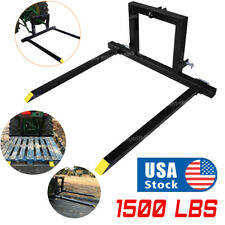 3 Point Pallet Hitch Fork Attachment Category 1 Tractor Logs Fields Adjustable