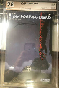 Hot-The-Walking-Dead-193-SDCC-Graded-PGX-Not-CGC-Or-CBCS-Signed-By-Kirkman