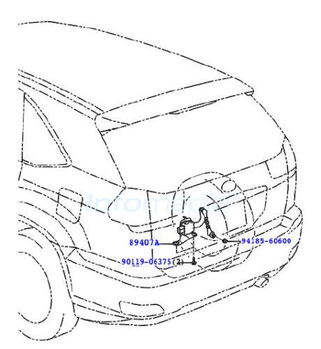 Leuchtweitensensor Höhensensor Xenon AFS Mazda MX-5 FE03-51-21YD FE03-22YC