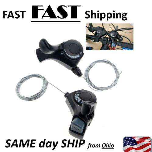 FAST SHIPPING Mountain Bicycle Trigger Shifter 7 Gears 21 Speed Bike Cycling