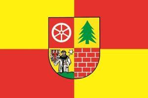 Aufkleber-Muencheberg-Flagge-Fahne-12-x-8-cm-Autoaufkleber-Sticker