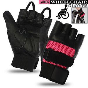 Ladies-Women-Wheelchair-Gloves-Mobility-Disability-Full-Thumb-Gloves-Fingerless