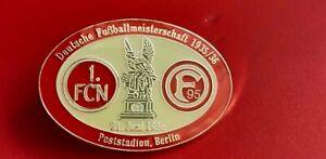 Pin - 1. FC Nürnberg - Fortuna Düsseldorf - Deutsche Meisterschaft 1935/36