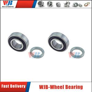 WJB Brand 2 Pcs Rear Wheel Bearing For Mercury Ford Lincoln