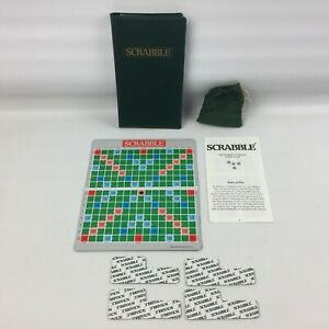 Spears-Pocket-Scrabble-Travel-Game-in-case-with-magnetic-tiles-board