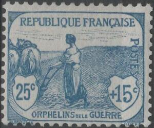 FRANCE-STAMP-TIMBRE-N-151-034-ORPHELINS-25c-15c-FEMME-LABOUR-034-NEUF-xx-TTB-K168