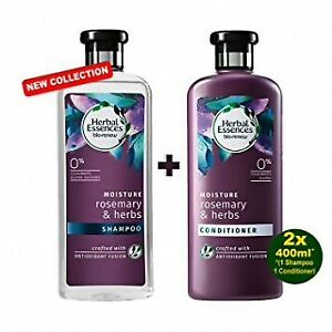 Herbal Essences Bio Renew Moisture Rosemary & Herbs Shampoing & conditionner