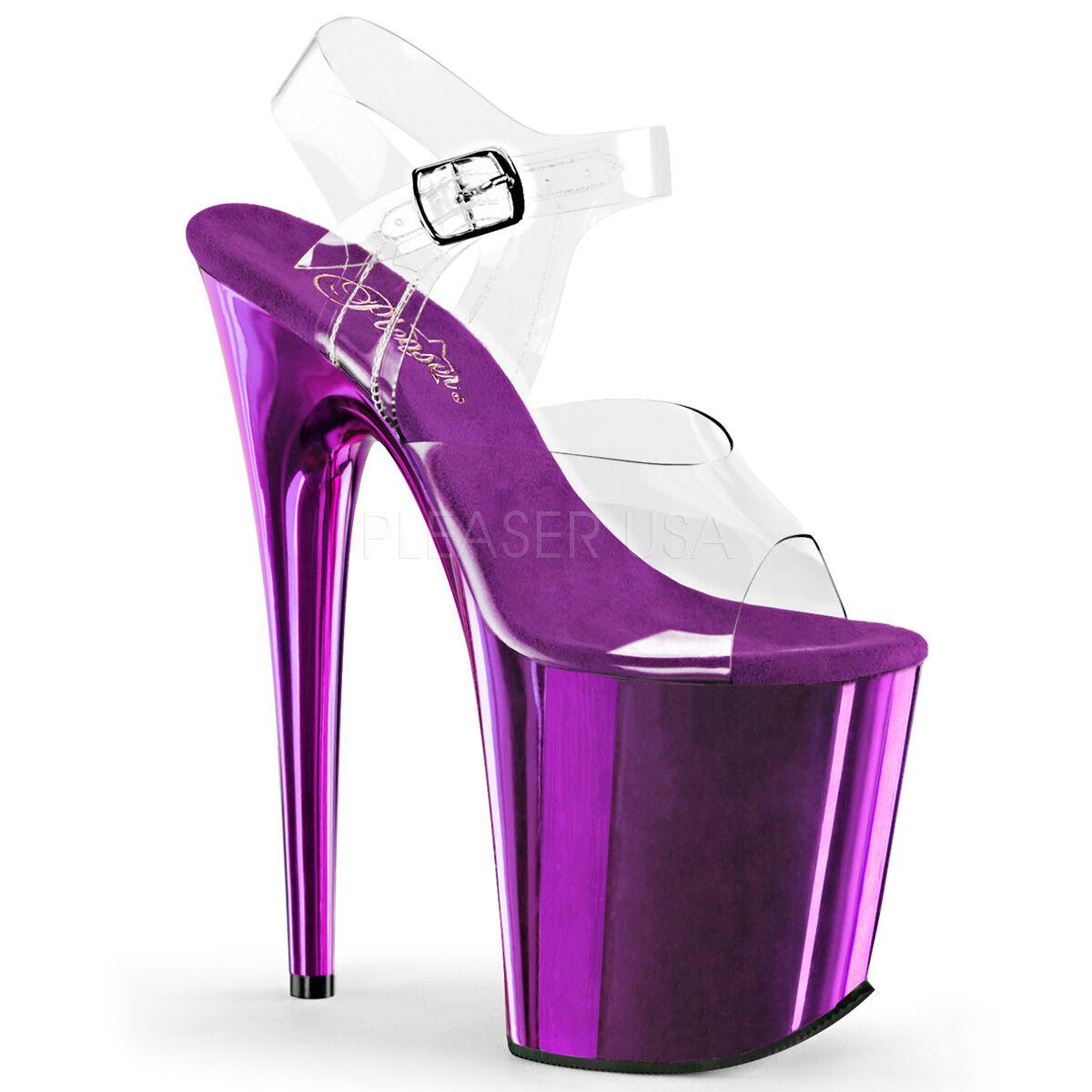 Sexy Purple Chrome Platform 8