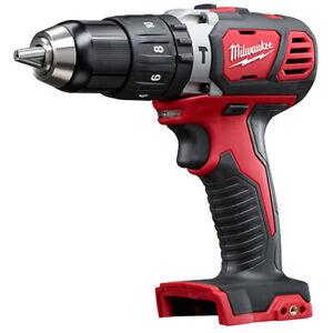 Milwaukee-18V-Li-Ion-XC-1-2-034-Compact-Hammer-Drill-Driver-Tool-2607-80-Refurb