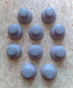 10 Stick Analogique De Remplacement Pour Manette Gamecube - Joystick Gris Eyoidtlj-07190008-673823471