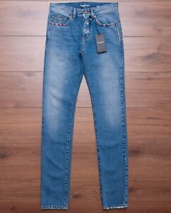 SAINT-LAURENT-PARIS-890-Low-Waisted-Skinny-Jeans-In-Vintage-Blue-Denim