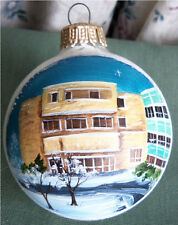 1986 Hand Painted 2.5-Inch Christmas Ornament - Wabash County Hospital - Indiana