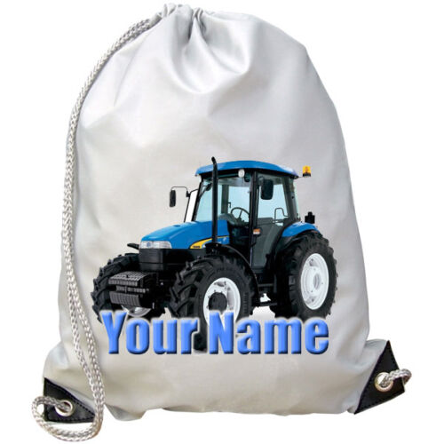 GREAT GIFT 4 KIDS /& NAMED 2 DANCE// SWIMMING BAG PE TRACTOR PERSONALISED GYM