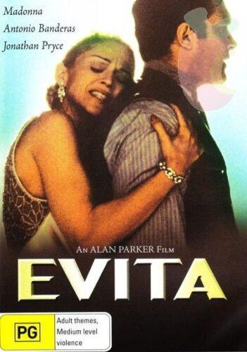 1 of 1 - EVITA DVD - MADONNA - RARE OOP - Region 4 Aust.