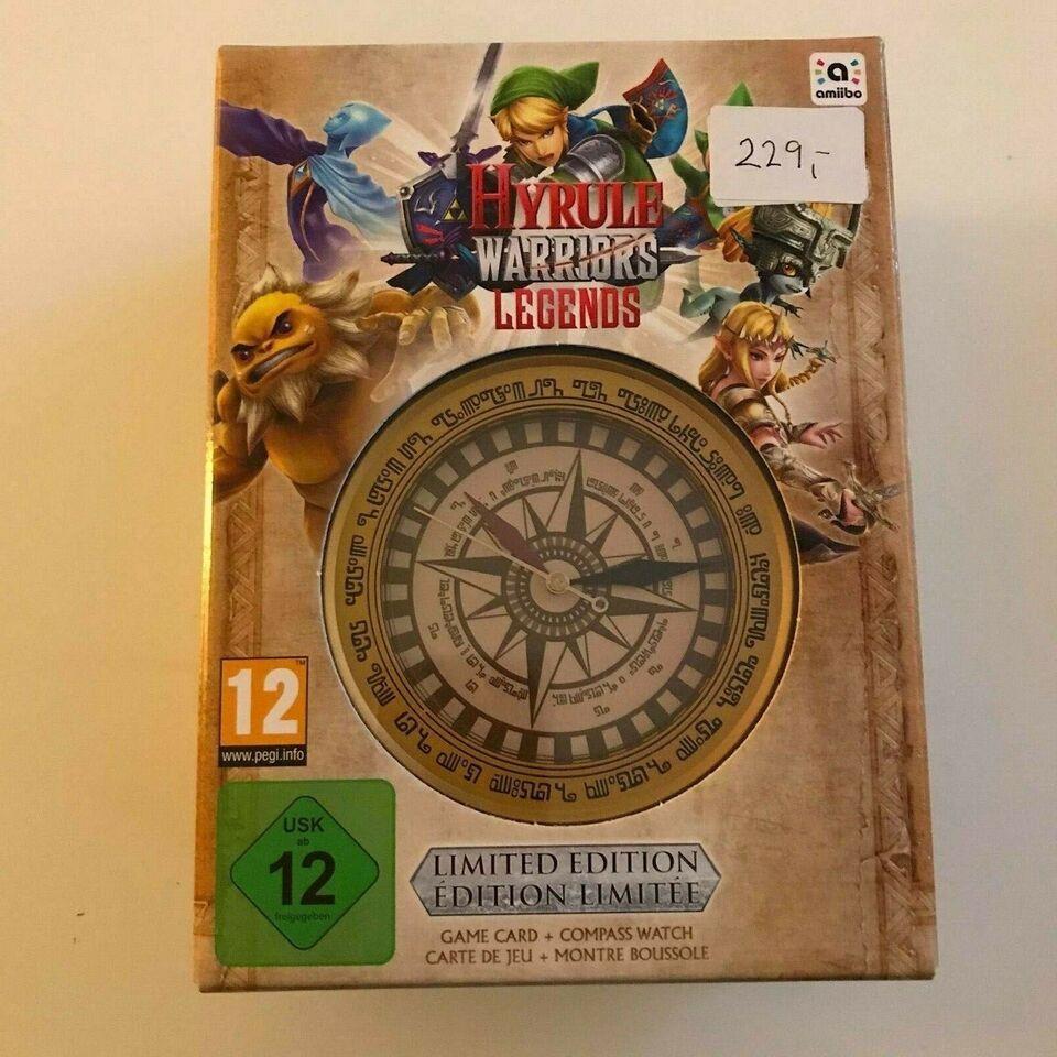 Nintendo 3DS - Hyrule Warriors Legends Limited, Nintendo