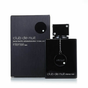 Club De Nuit Intense Cologne by Armaf, 3.6 oz EDT Spray for Men NEW IN BOX