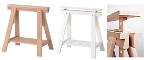 Superbe Image Is Loading Adjustable Height FINNVARD TRESTLE TABLE Wooden Stand Legs