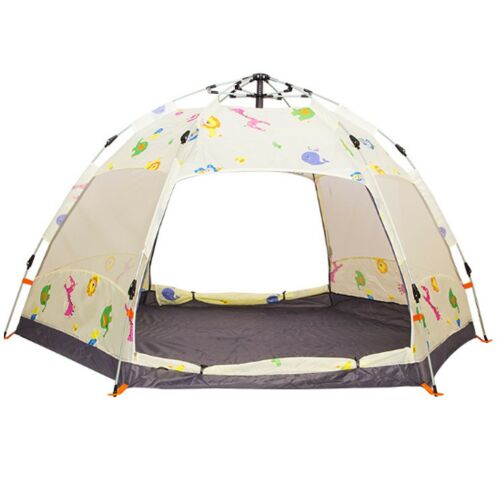 Double Skin Big Tent Travel Large Camping beach Automatic Beach pop up Dome