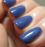 Deborah Lippmann I Know What Boys Like Polish Lacquer Blue Full Size