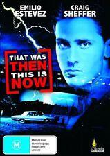 THAT WAS THEN THIS IS NOW (Emilio Estevez) DVD - Region 2 UK Compatible - sealed