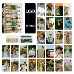 30pcs-Set-Kpop-SEVENTEEN-Lomo-Card-Left-amp-Right-Collective-Lomocards-Photocard