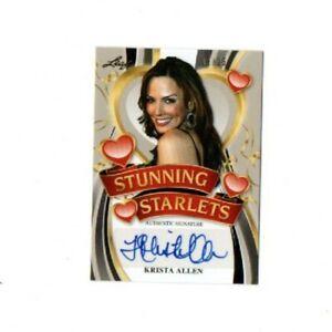 2015 Leaf Pop Century Krista Allen Authentic Signature Card SS-KA1 NM/MT 02/15