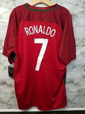 the best attitude 1f7f3 5edb0 Nike Portugal Jersey Cristiano Ronaldo #7 Soccer Jersey Men's Sz XL CR7 New  | eBay