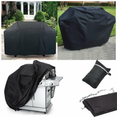 Heavy Duty BBQ 2-4 Burner Grill Waterproof Barbecue Cover Garden Patio Protector