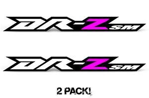 Swingarm Decal sticker graphics kit for Suzuki DRZ400SM,Tank  2PC 1.5x13.75 Yel