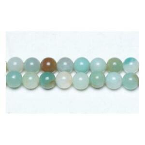 Amazonite-Round-Beads-10mm-Multicolour-6-Pcs-Gemstones-Jewelry-Making-Crafts