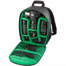 Waterproof Large Digital Camera Bag Backpack Photo SLR DSLR Case for Nikon Canon