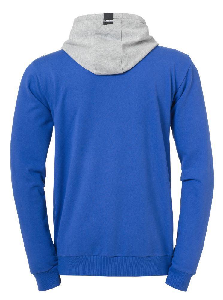 Kempa Handball Core Core Core 2.0 Freizeit Herren Kapuzenjacke Sportjacke blau grau 974cde