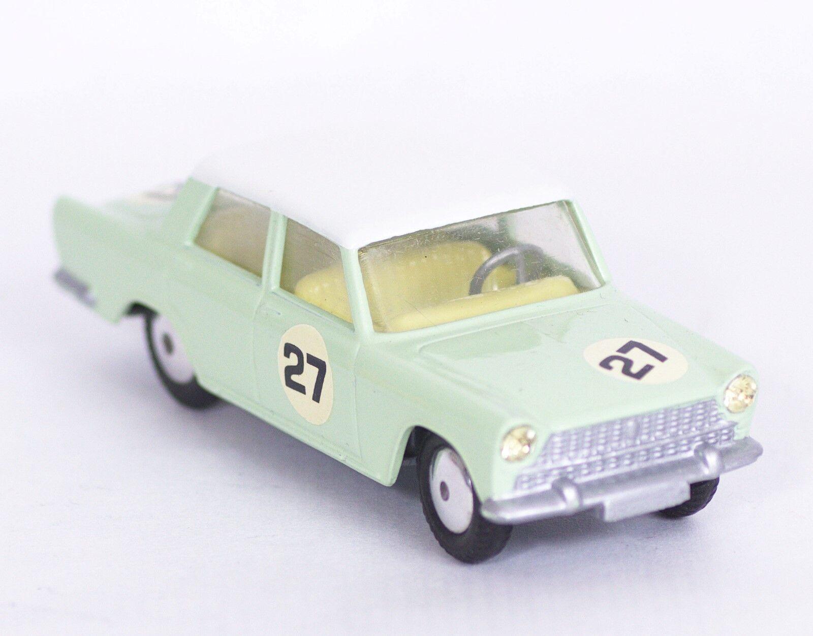 Corgi toys  Fiat 1800 competition  código 3  única  Mint