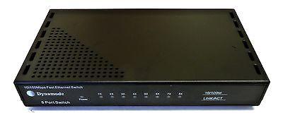 10 / 100mbps 8 Vie Porta Dati Soho Switch Rj45 Rete Lan Ethernet Extender Rack-