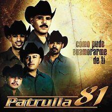 "Lot of 4 ""Patrulla 81"" CD's New/Sealed Como Pude Enamorarme de Ti"