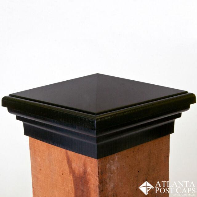 10 Year Warranty! 6x6 Post Cap - Nominal 5.5 Cedar Color Flat Top